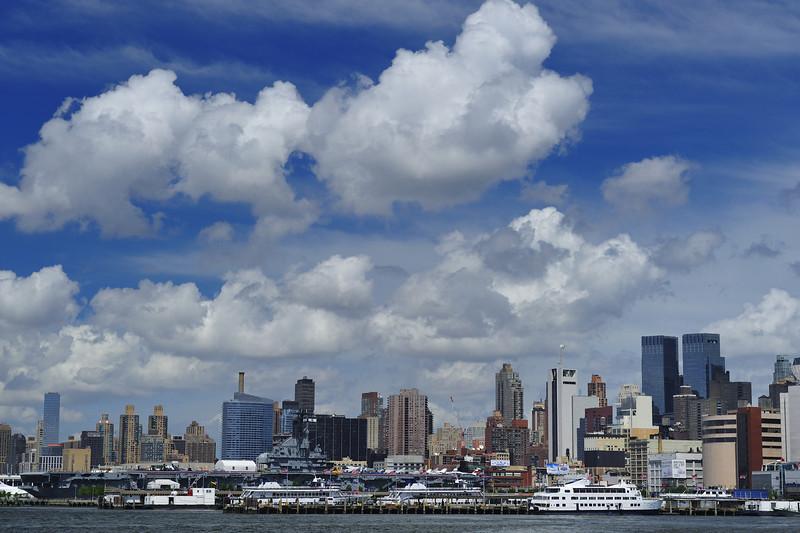 Clouds Above Manhattan