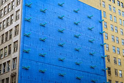 wall + pattern
