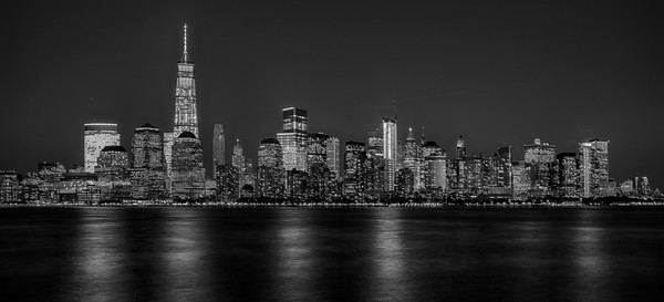 Lower Manhattan from NJ