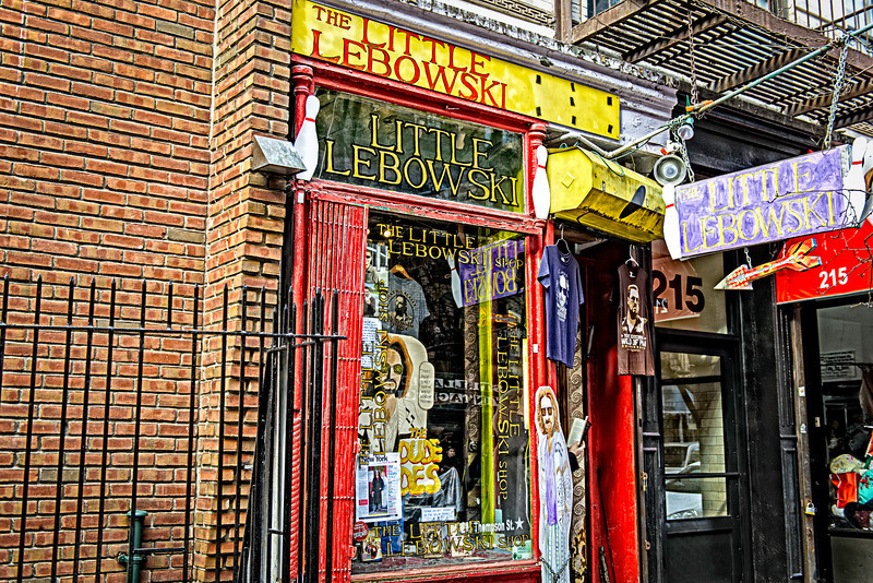 the little lebowski shop in new york city abides