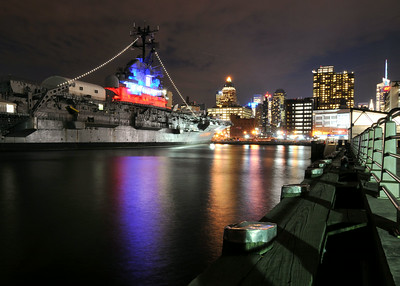 Intrepid At Night
