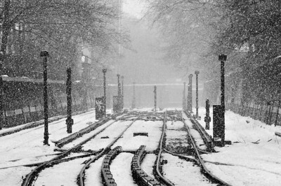 Snow On the Brighton Line