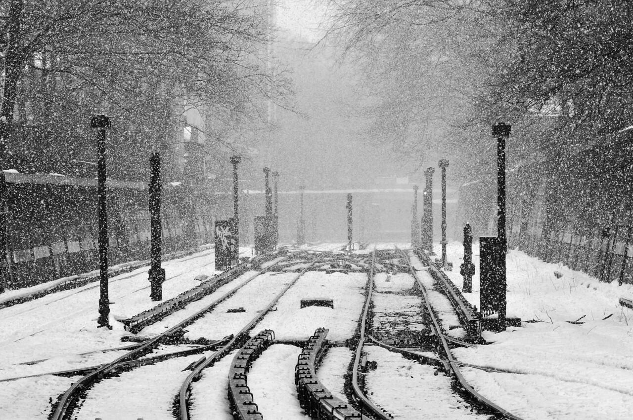Snow On the Brighton Line