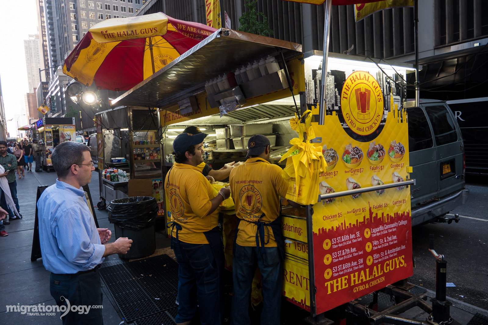 NYC street food