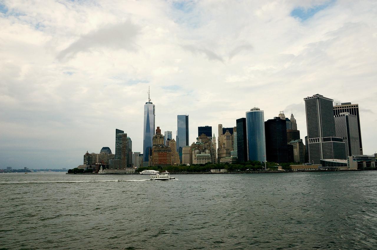 New York City Skyline by Beata Obrzut