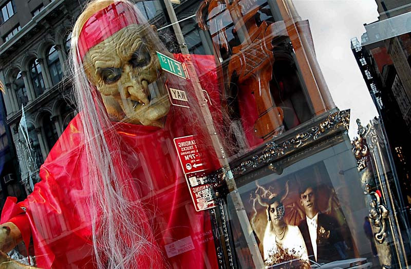 Halloween Storefront