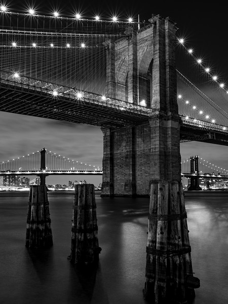 Brooklyn Bridge w/ Manhattan Bridge