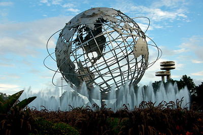 Unisphere, Flushing Medows Park, Queens, NY  by Beata Obrzut