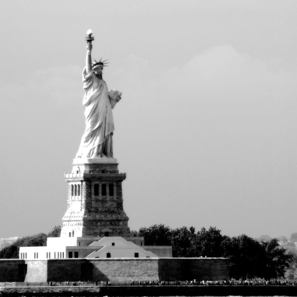 Lady Liberty NYC by Beata Obrzut
