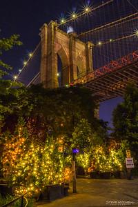 Brooklyn Bridge and Lights