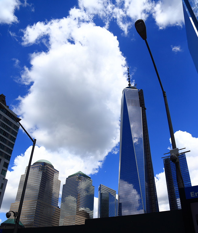 Freedom Tower from Memorial