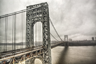 George Washington Bridge, Fort Lee, New Jersey, USA