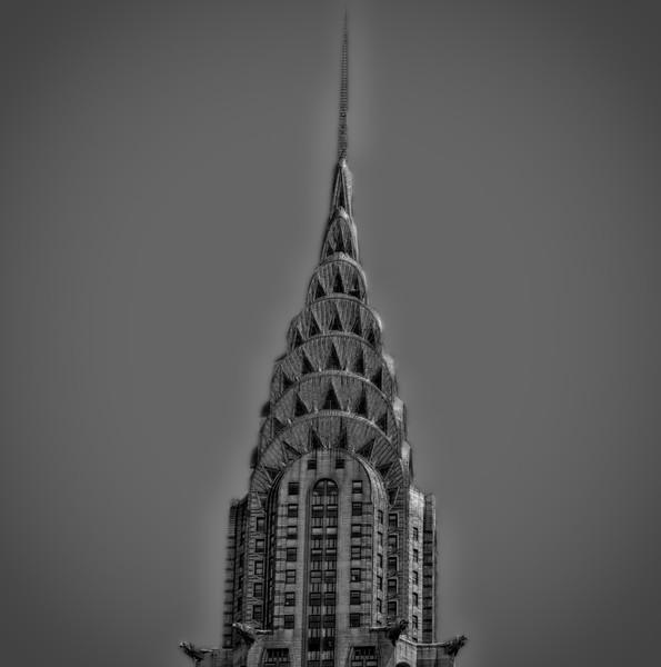 Chrysler Black and White
