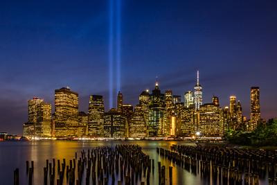 9/11 Tribute in Light II