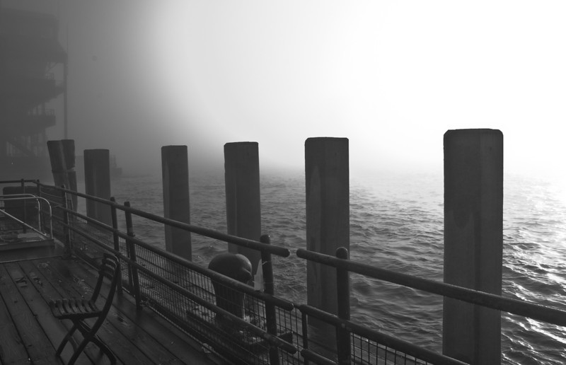 pier in New York