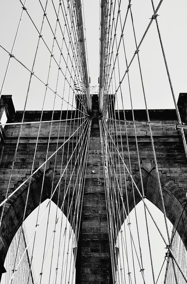 Brooklyn Bridge by Beata Obrzut