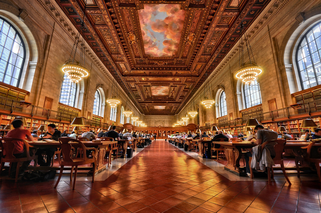 Rose Main Reading Room - New York Public Library