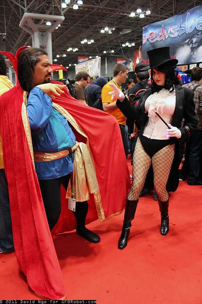 Dr. Strange and Zatanna