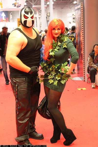 Bane and Poison Ivy