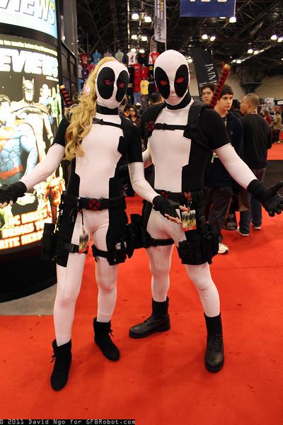 Lady Deadpool and Deadpool