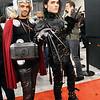 Thor and Edward Scissorhands