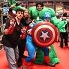 Iron Man, Thor, Hulk, and Captain America
