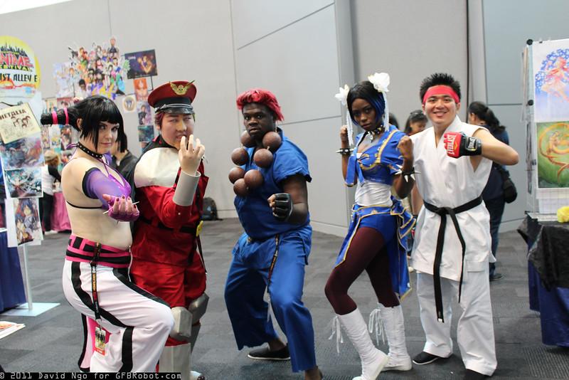 Juri Han, M. Bison, Akuma, Chun-Li, and Ryu