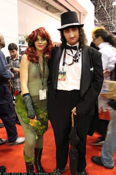 Poison Ivy and Penguin