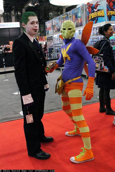 Joker and Killer Moth