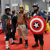 Captain Americas and Rocketeer