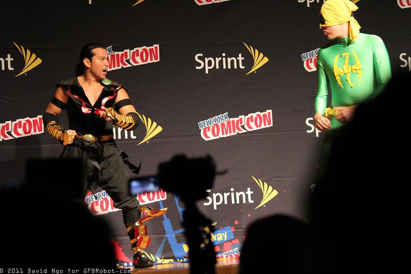 Shang Tsung and Iron Fist
