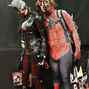 Zombie Catwoman and Zombie Spider-Man