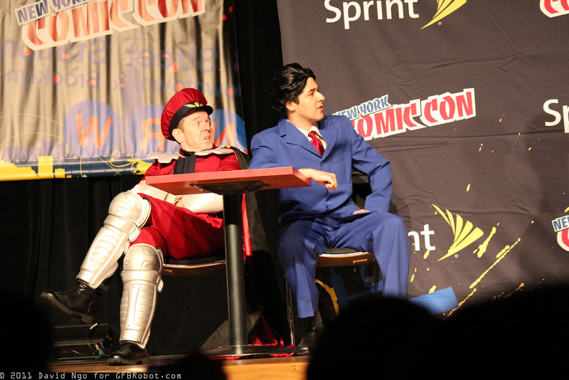 M. Bison and Phoenix Wright