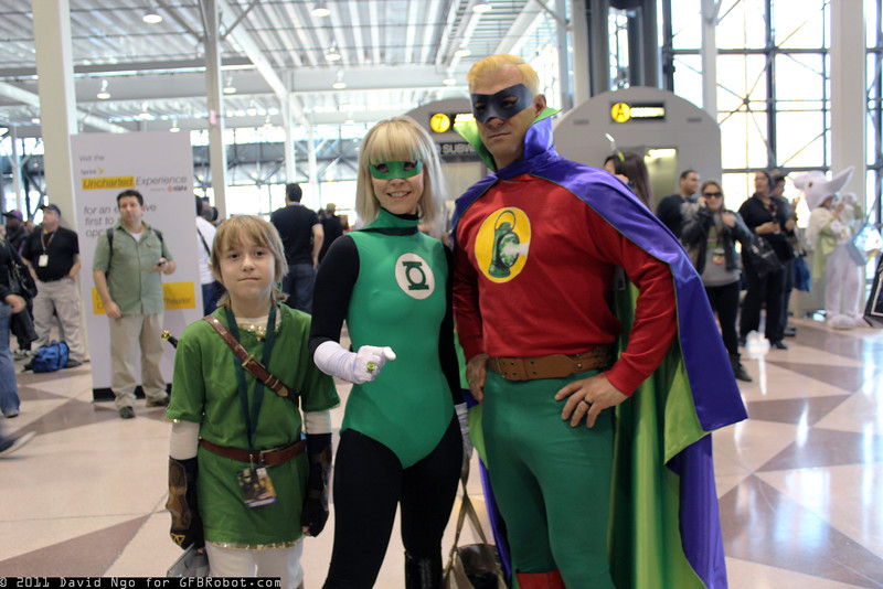 Link and Green Lanterns