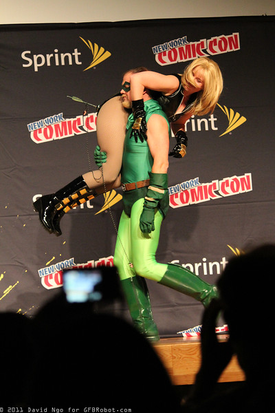 Black Canary and Green Arrow