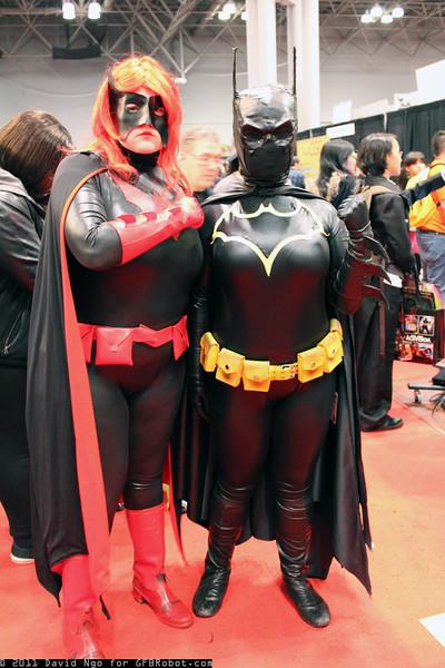Batwoman and Batgirl