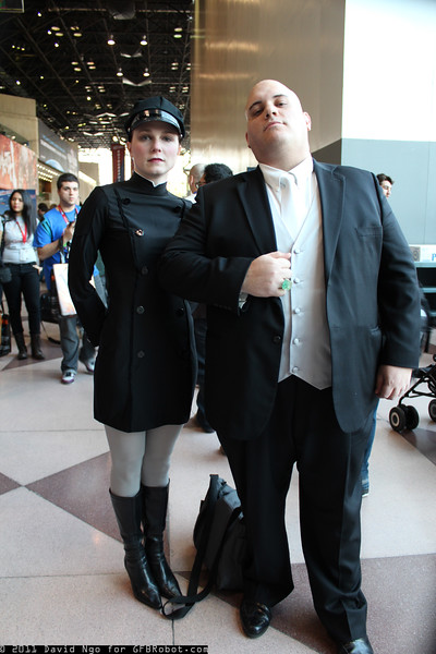 Mercy Graves and Lex Luthor