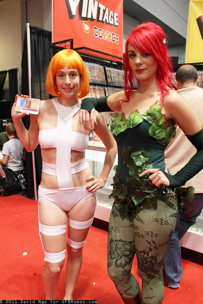 Leeloo and Poison Ivy