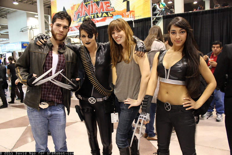 Wolverine, Domino, Hope, and X-23