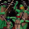 Donatello, Leonardo, Raphael, and Michelangelo