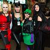 Harley Quinn, Catwoman, Riddler, and Raven