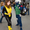 Shadowcat and Kakashi Hatake