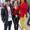Joker's Henchman, Harley Quinn, and Poison Ivy