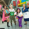 Vanellope von Schweetz, Tinker Bell, Esmeralda, Grandmother Fa, and Cri-Kee