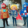 Iron Man, Thor, and Captain America