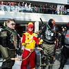 Green Arrow, Firestorm, Deathstroke the Terminator, and Red Hood