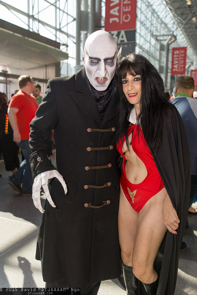 Graf Orlock and Vampirella