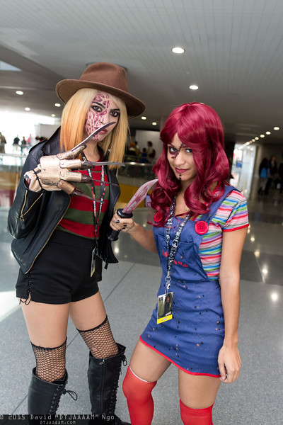 Freddy Krueger and Chucky