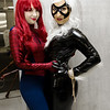 Mary Jane Watson and Black Cat