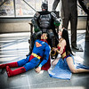 Batman, Wonder Woman, and Superman